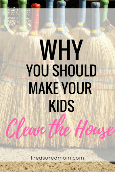 It is so important to teach kids to clean the house. Read here about many of the reasons.