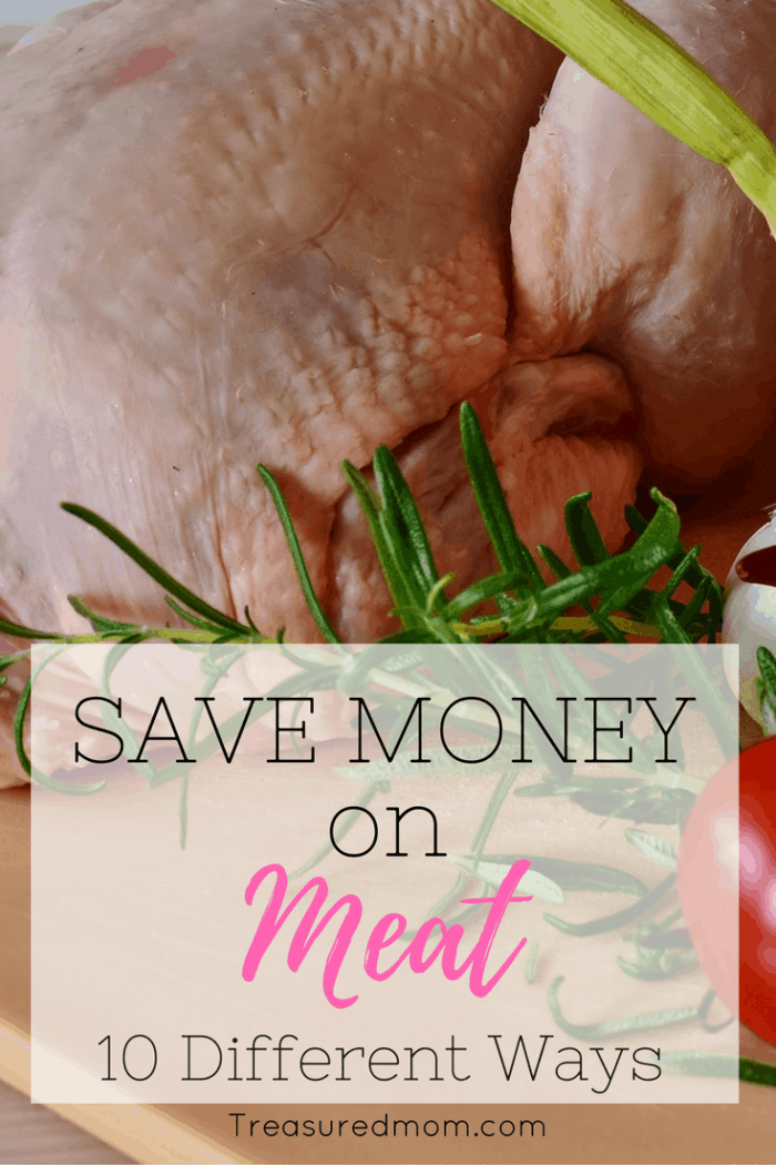 These are awesome ways to Save Money on Meat. You will drastically cut down on your grocery budget by using these ideas.