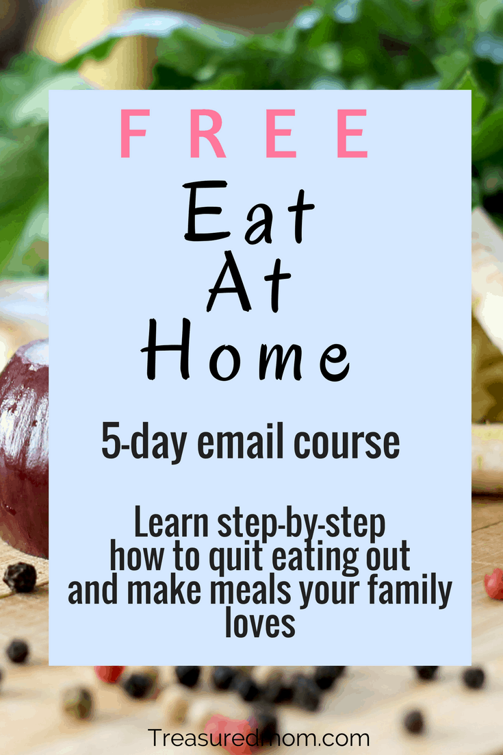 Learn to Eat At Home and stop throwing your money away in the drive-thru line.  Get the step-by-step process here.