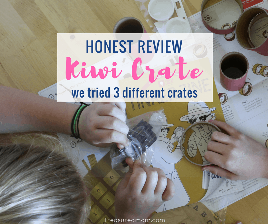 Honest Kiwi Co Review-We Tried 3 Different Crates