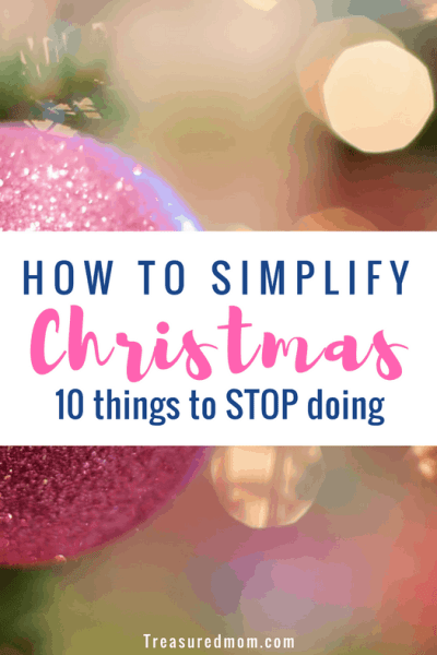 What great ideas on How to Simplify Christmas by cutting back on the things that keep you busy and frazzled. This will even help you save money on Christmas. Free printable reflections worksheet.