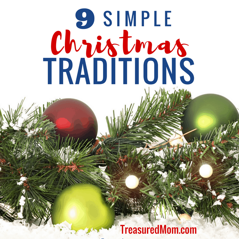 Are you looking for some Simple Christmas Traditions to start this year? Make your holiday season special and simple at the same time. Celebrate holiday traditions to bring your family together.