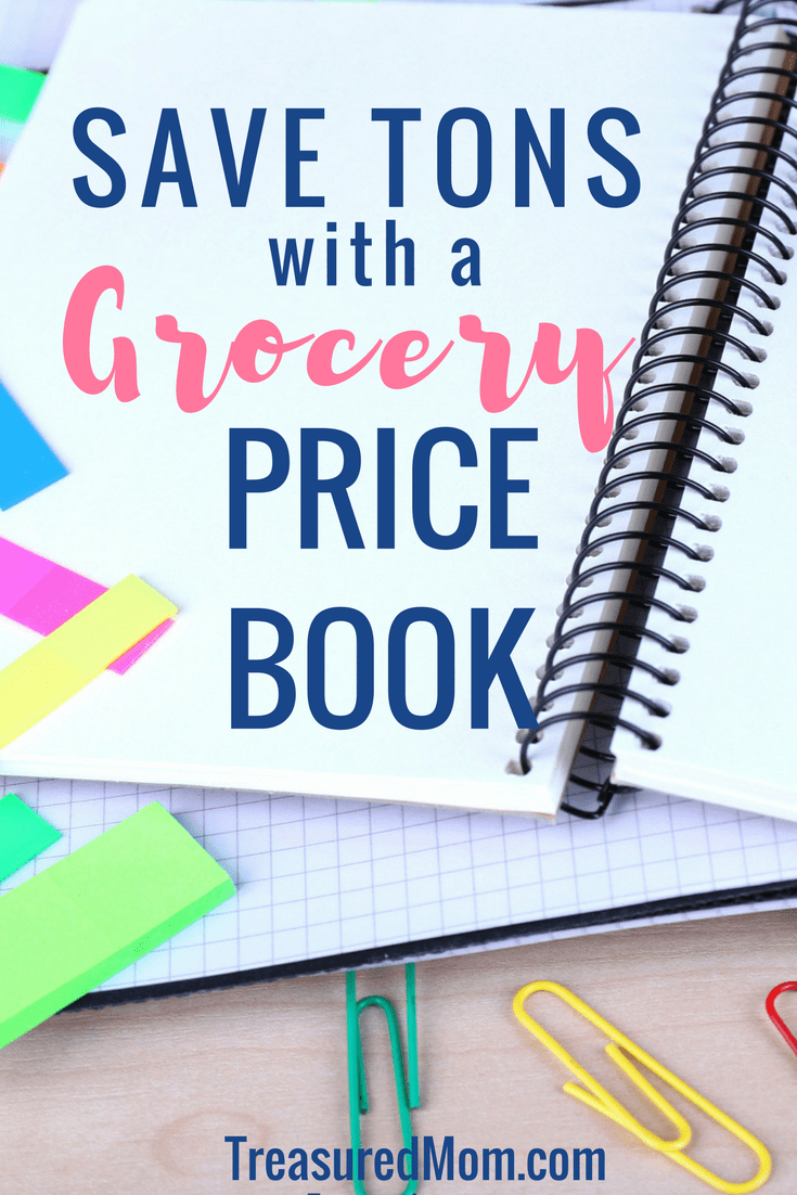 How to Make a Grocery Price Book is just what you need to start saving money at home. It includes a great template to save money on your grocery budget. Get the Free Printable Price Book Packet. #groceries #savemoneyongroceries #savemoney #treasuredmomblog