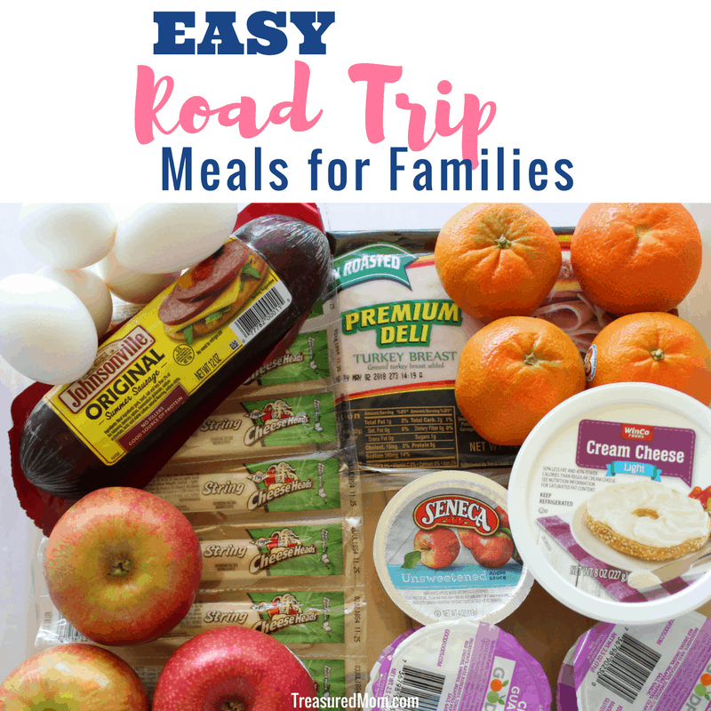 Great Camping Meals Road Trip Food Ideas: Easy Road Trip Meal Ideas For Families
