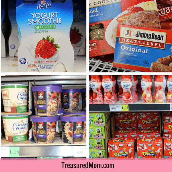 Easy Road Trip Meals for Families, breakfast