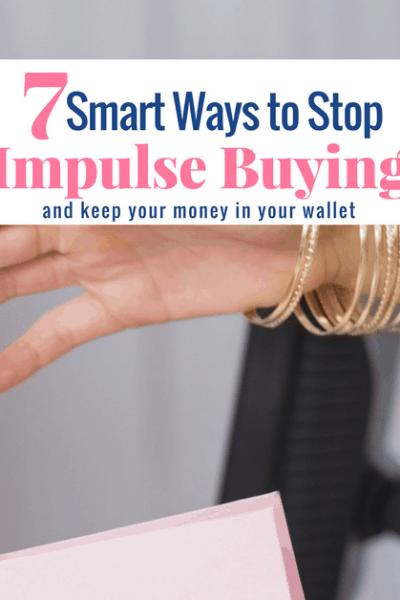 Ways to Stop Impulse Buying, woman grabbing shopping bag