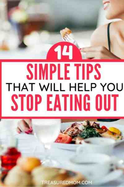 woman in restaurant for how to stop eating out post