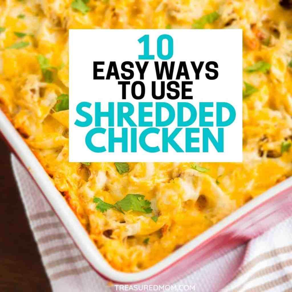 chicken casserole for 10 Easy Shredded Chicken recipes post