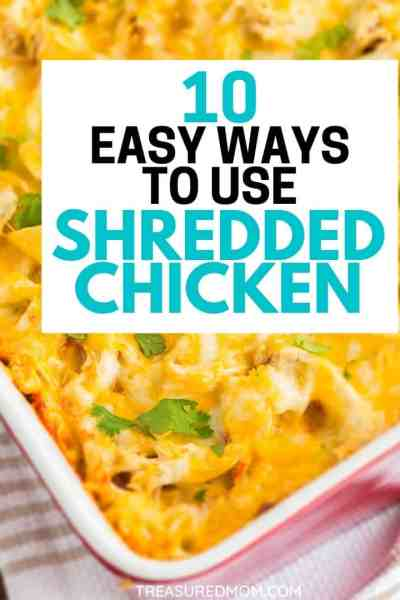 chicken casserole for 10 Easy Shredded Chicken recipes post