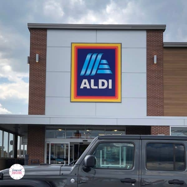 aldi storefront for postpartum freezer meals for instant pot