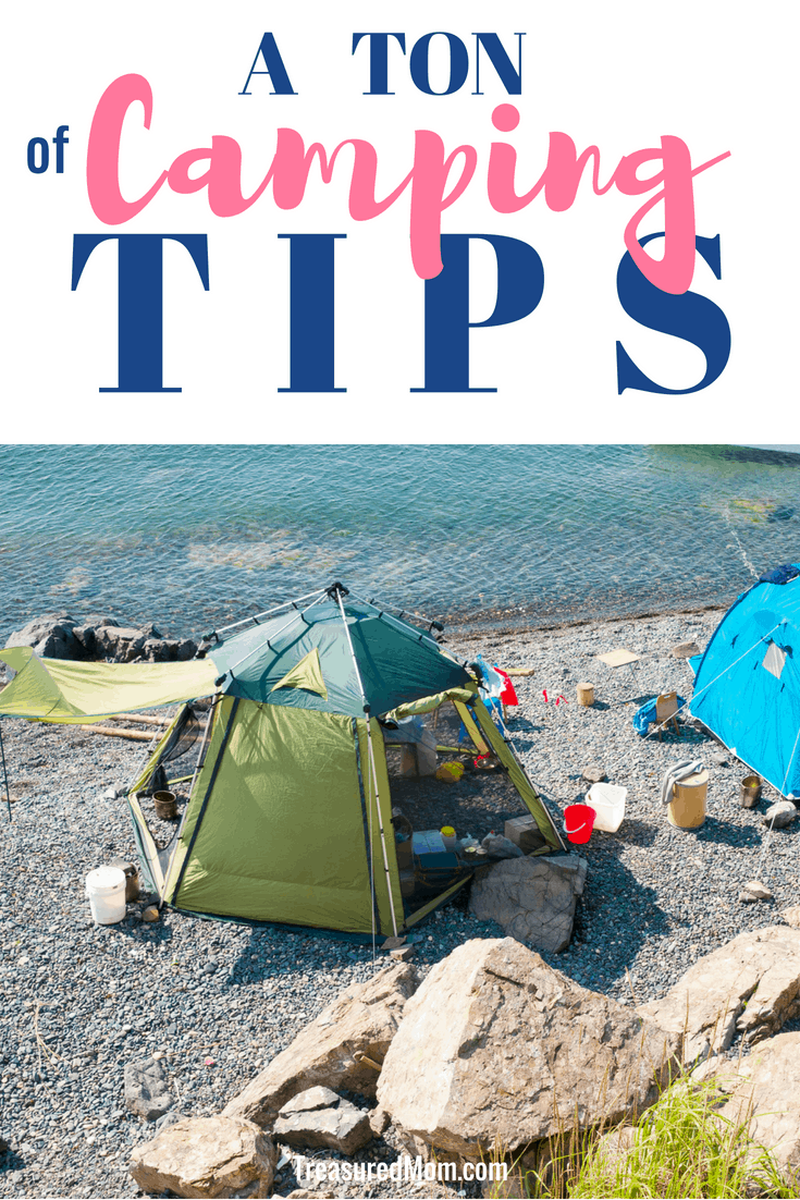 Get lots of camping ideas to help you figure out what to take camping, camping on a budget, and tips for camping with kids. Great smart convenience items your camping trip and little hacks for a better time. Free Printable Camping Essentials Checklist and Camping Menu Planner
