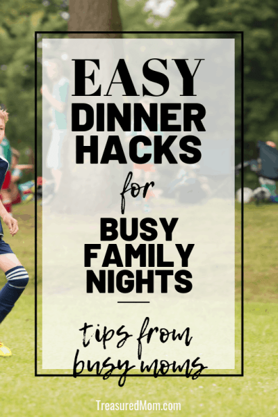 boy playing soccer for easy dinner tips for busy nights