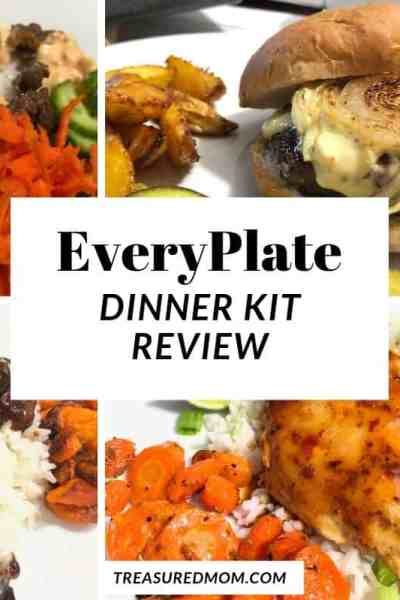 hamburger, sriracha meatballs, sweet chili chicken, fajitas for Everyplate review