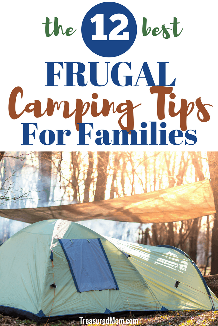 A Frugal Camping Trip is the best way to have a family vacation on a budget.  Find the best hacks and ideas to save money on everything from food to gear on your family camping trip.