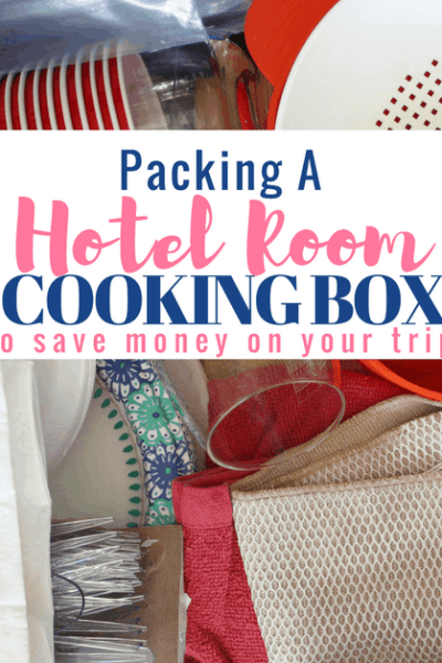 How to Pack a Hotel Room Cooking Box
