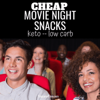 Cheap Keto Movie Snacks That Won't Break The Bank