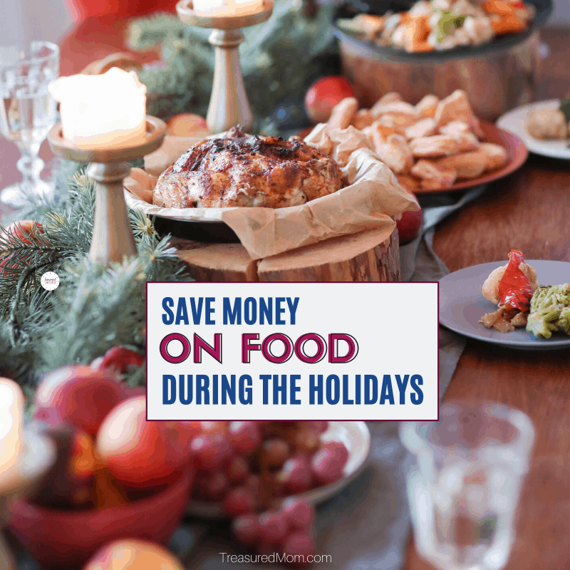 Holiday Dinner Table for Save money on groceries during the holidays