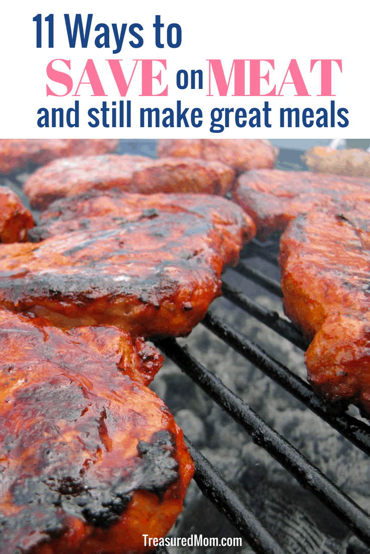 Learning how to save money on meat is one of the most important ways you can make progress in stretching your grocery budget. Learn lots of tips to help you stay on track with your food budget. If you're raising a family, meat can overtake your grocery expenses. Save money both at the grocery store and at home with these ideas.