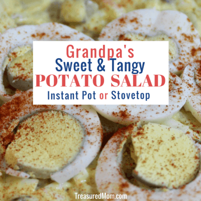 Sweet & Tangy Potato Salad