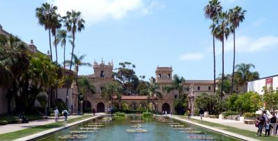 Beautiful Balboa Park is the perfect setting for a team building treasure hunt