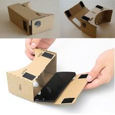 Google CardBoard VR 3 scenes