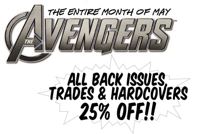 Summer Movie Sale #1: All May AVENGERS Sale!