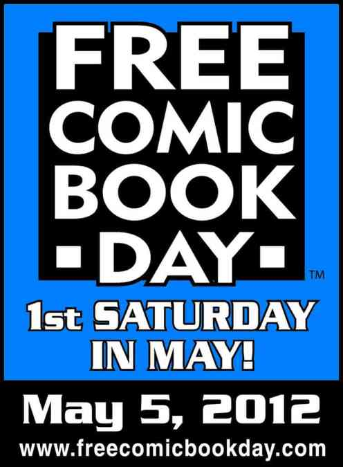 SATURDAY Morning Comic Books! Free Comic Book Day edition! 5 May!