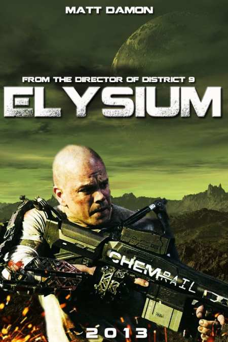 Midnight Movie #8: Elysium, Thursday 8 August