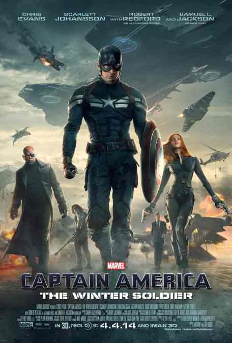 Midnight Movie #1: Captain America, The Winter Soldier (Thurs, 3 April)