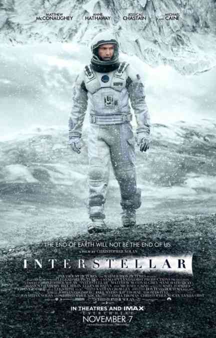 Midnight Movie #7: Interstellar (Thurs, 6 November)