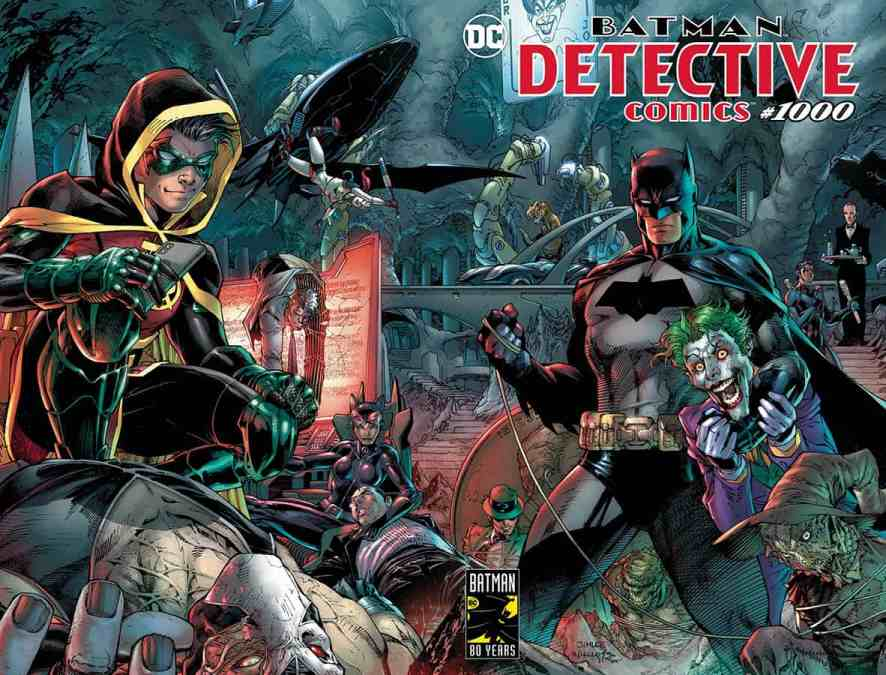 HOLY SMOKES BATMAN! DETECTIVE COMICS #1000! Pre-order deals and details