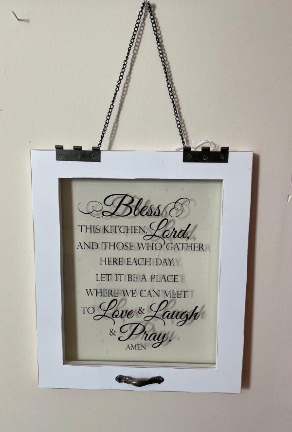 Kitchen Prayer Sign