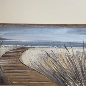 Boardwalk Painting