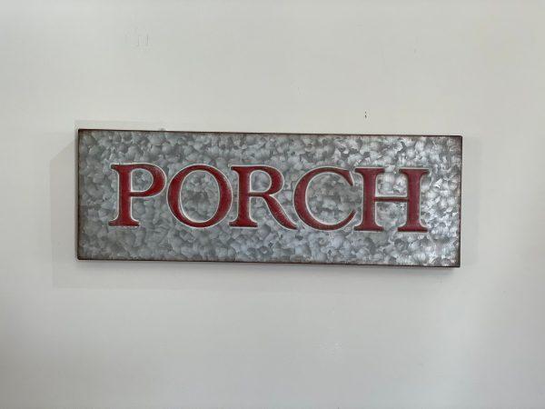 Porch Sign