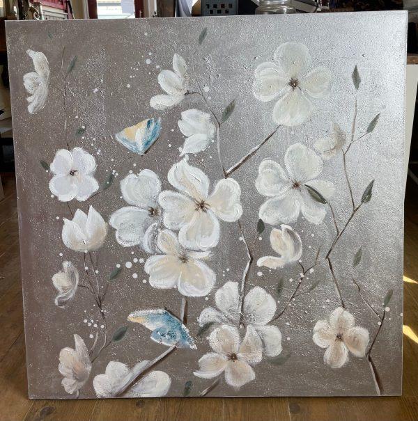 White Magnolia Print