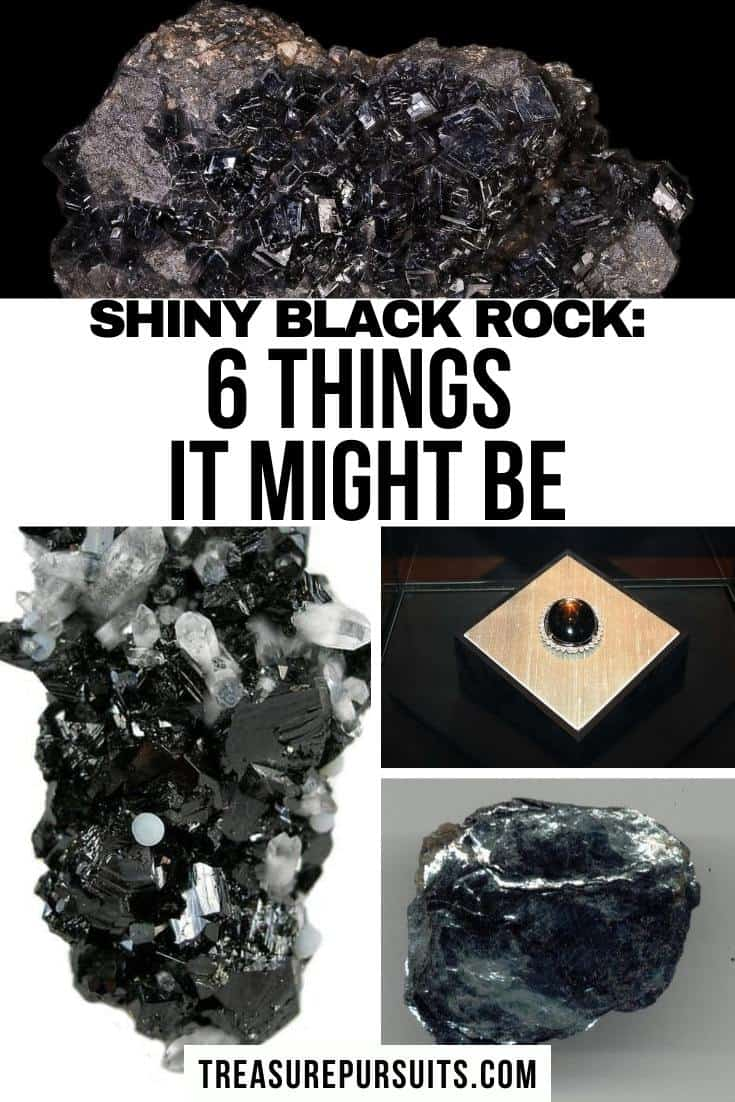 Identifying Black Stones : identifying, black, stones, Found, Shiny, Black, Rock:, Things, Might