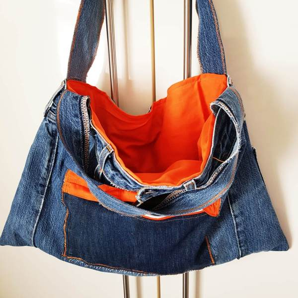 Jeanstasche upcycling