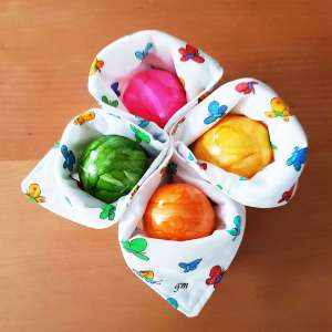 Platzdeckchen, Eierwaermer, Ostern