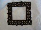 Black Small Frame hand painted