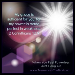 When You Feel Powerless, Just Hang On