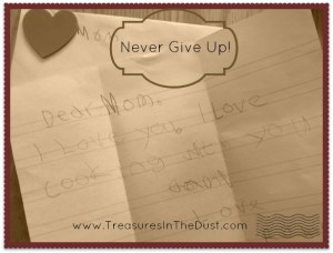 Never Give Up 2