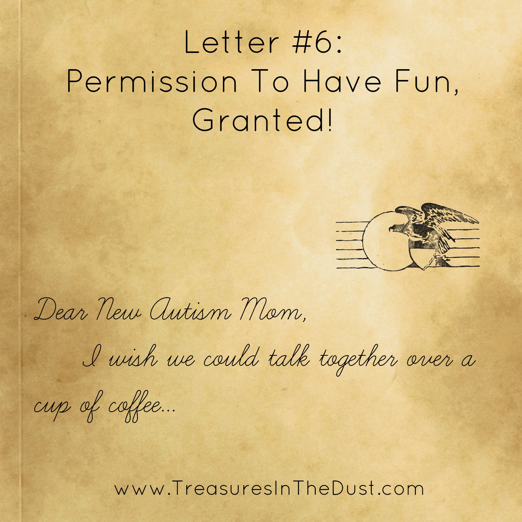 letter 6 permission to have fun granted autism finding