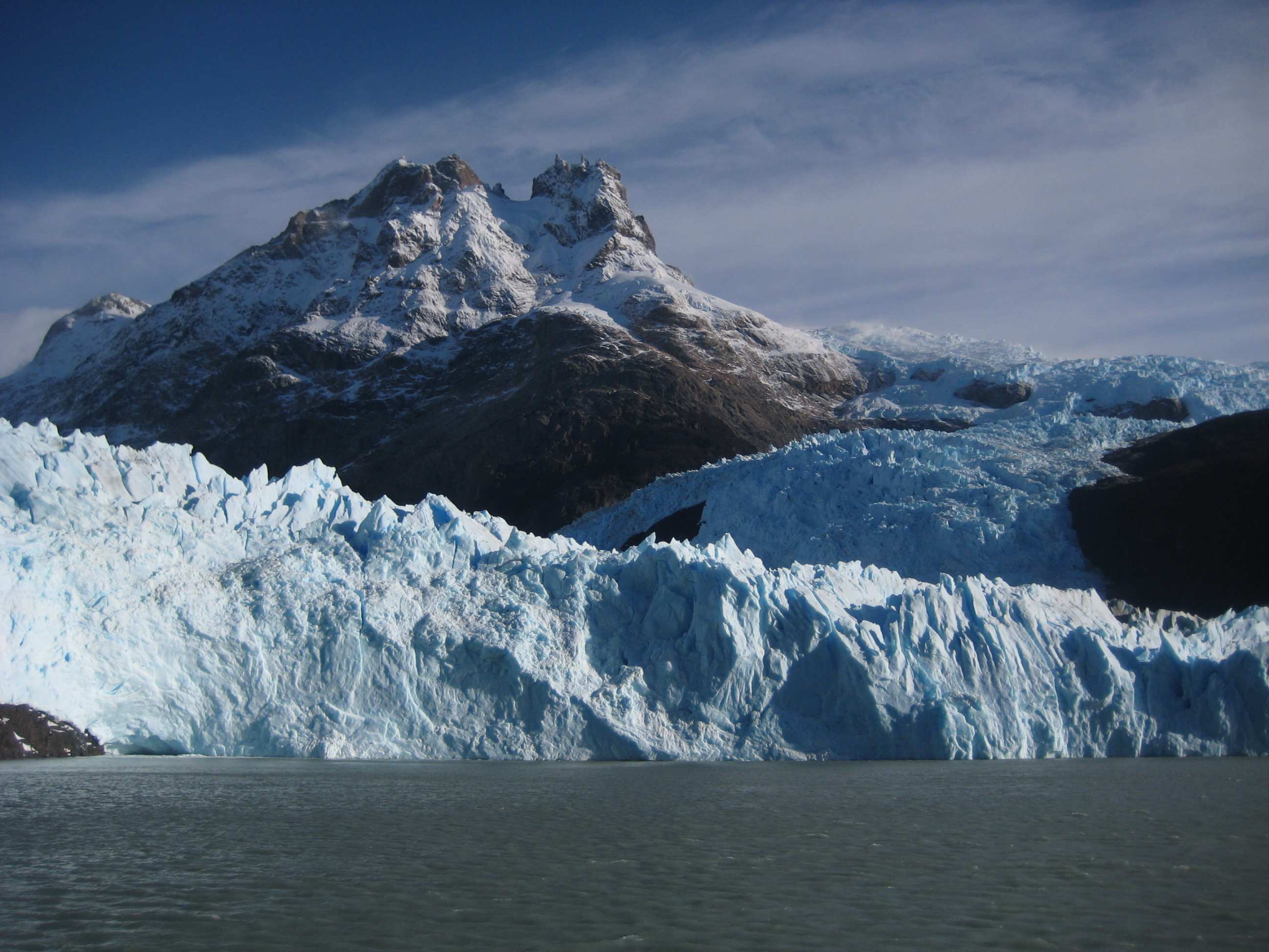 Mighty glaciers in Patagonia, Argentina!