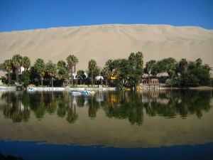 The Oasis of Huacachina in Peru!