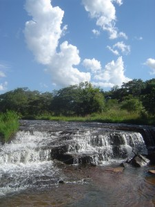 Beautiful little waterfall in Piribebuy, Paraguay!