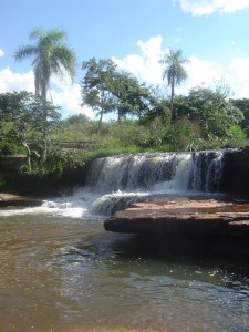 A nice swimming hole to relax in Piribebuy, Paraguay!