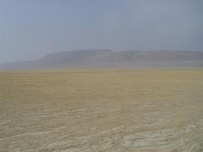 The desert of Paracas National Reserve in Peru.