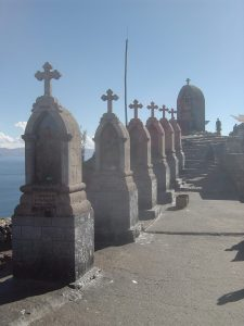 The Stations of the Cross, built on Cerro Calvario in the 1950s give the thousands of pilgrims another religious attraction to visit in Copacabana.