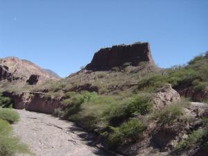The dried river bed of the Mantaro River runs along the road from Ayacucho to Huancayo!
