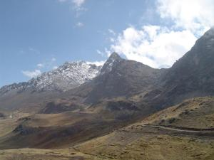 The Huaytapallana mountain range lies in the Junín Region in the Andes of Peru close to the city of Huancayo.